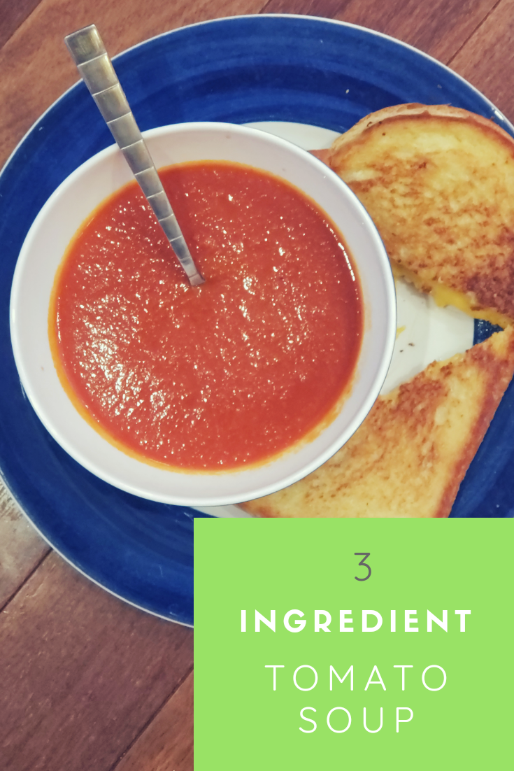 Easy Tomato Soup (just 3 ingredients!)