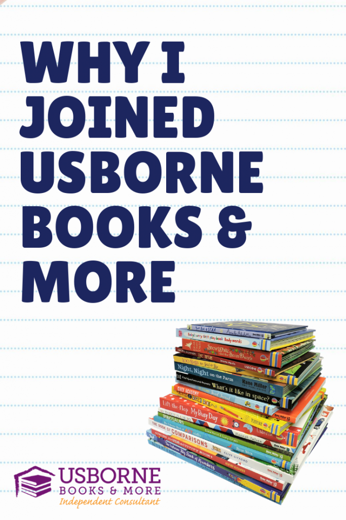Join a direct sales company - Why I joined Usborne Books & More
