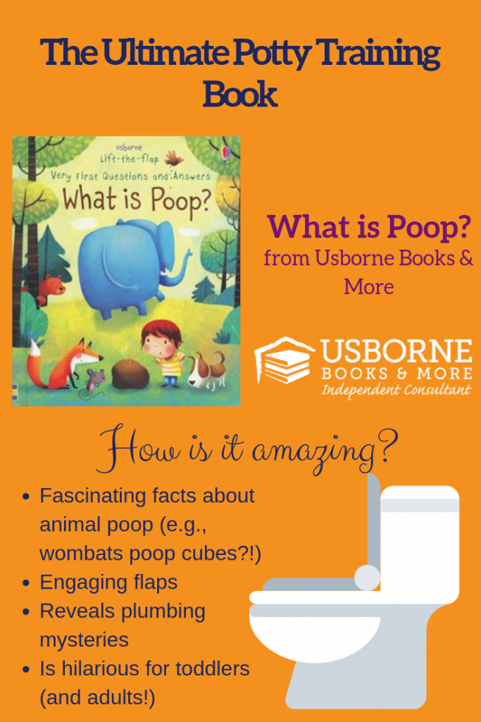 Best Potty Training Book: What is Poop? By Usborne Books & More