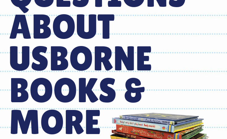 How Much Does it Cost to Join Usborne Books & More, and Other Frequently Asked Questions