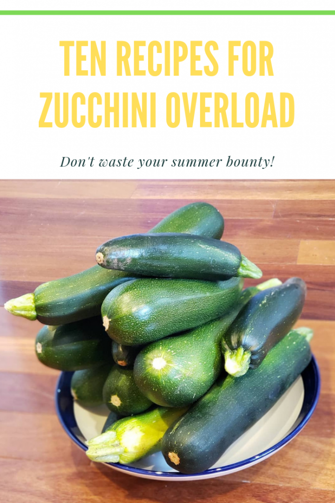 10 recipes for zucchini overload
