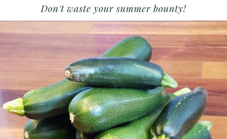 Ten Recipes for Zucchini Overload